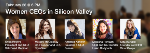 Female CEO's at Silicon Valley